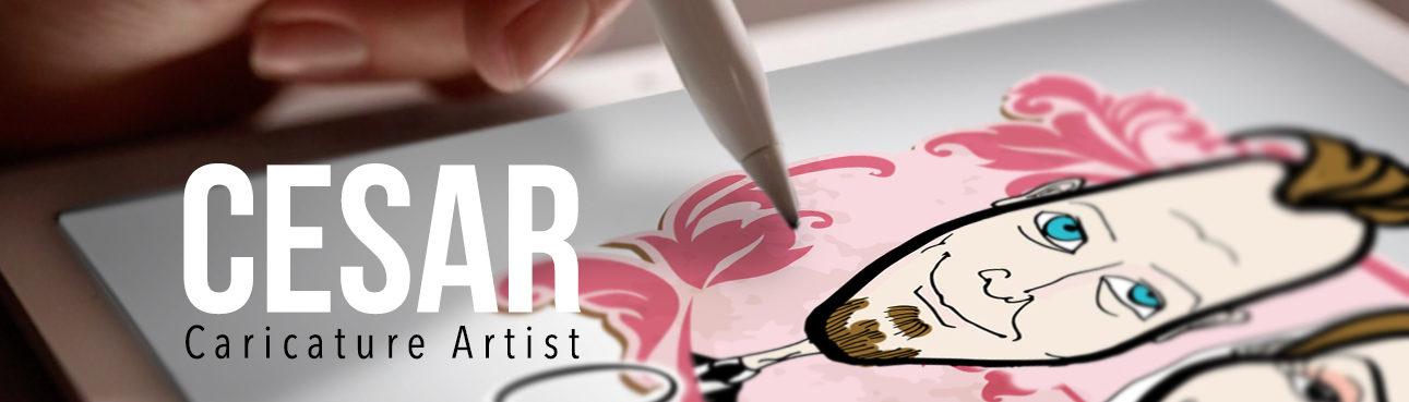 CESAR CARICATURIST ARTIST