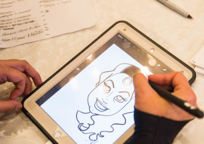 High tech caricatures